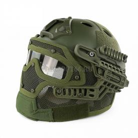 Шлем с защитой G4 Tactical helmet