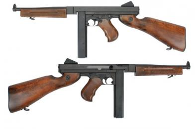 Автомат King Arms Thompson M1A1 Military фото, описание