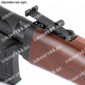 SVD SNIPER RIFLE WOOD PATTERN CO2 King Arms описание, цены и характеристики